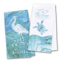 Coastal Tranquility Terry Towel Set