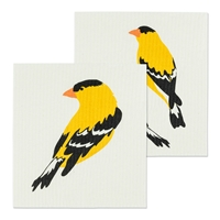 Goldfinch Swedish Dish Cloth Set
