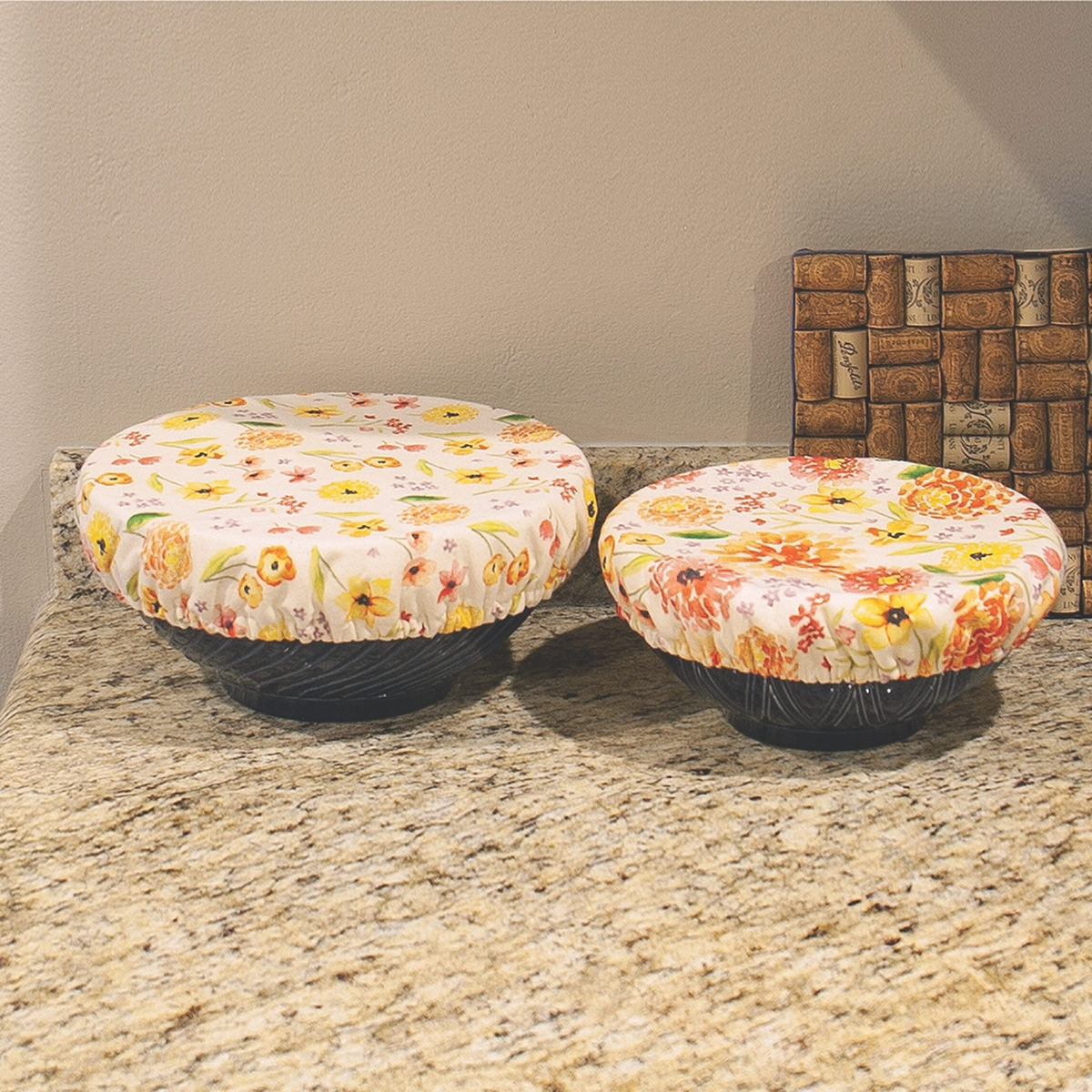Cottage Floral Bowl Covers
