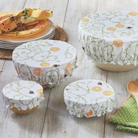 Flowers and Bees Bowl Covers