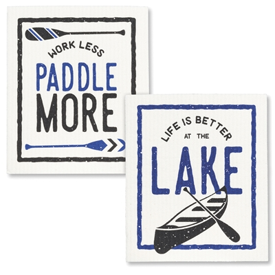 Better at The Lake Swedish Towels
