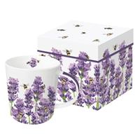 Bees and Lavender Mug
