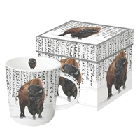 Wilderness Bison Mug