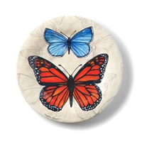 Butterfly Salad Plate Set