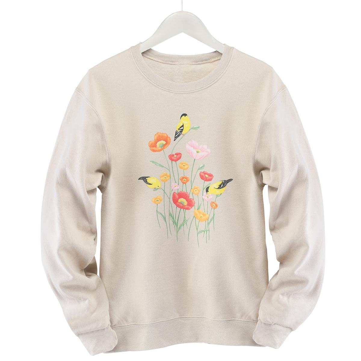 Poppy Branch Pullover