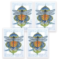Dragonfly Card Set
