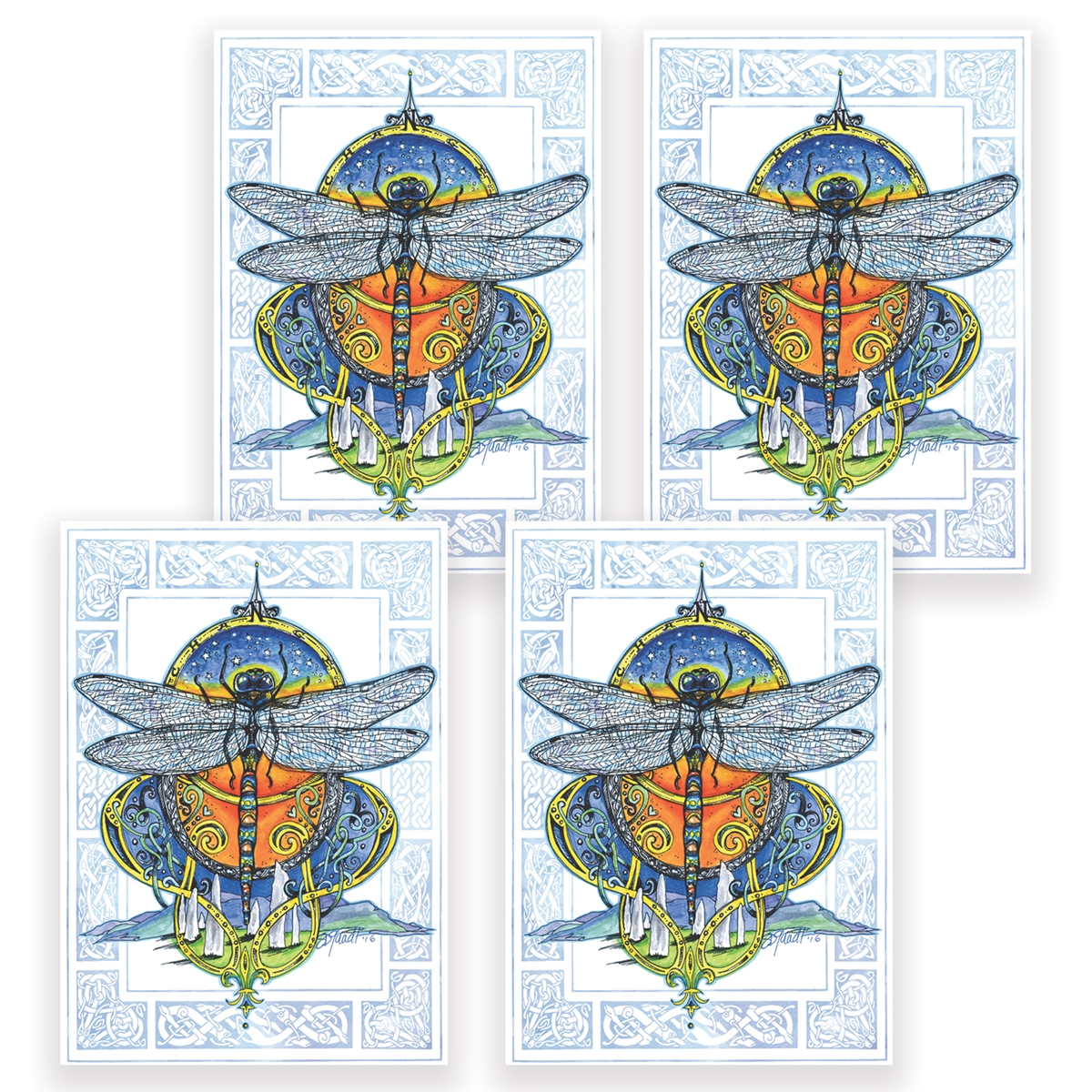 Dragonfly Card Set