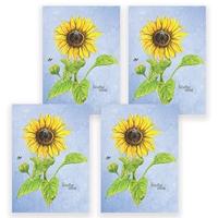 Sunflower Card Set