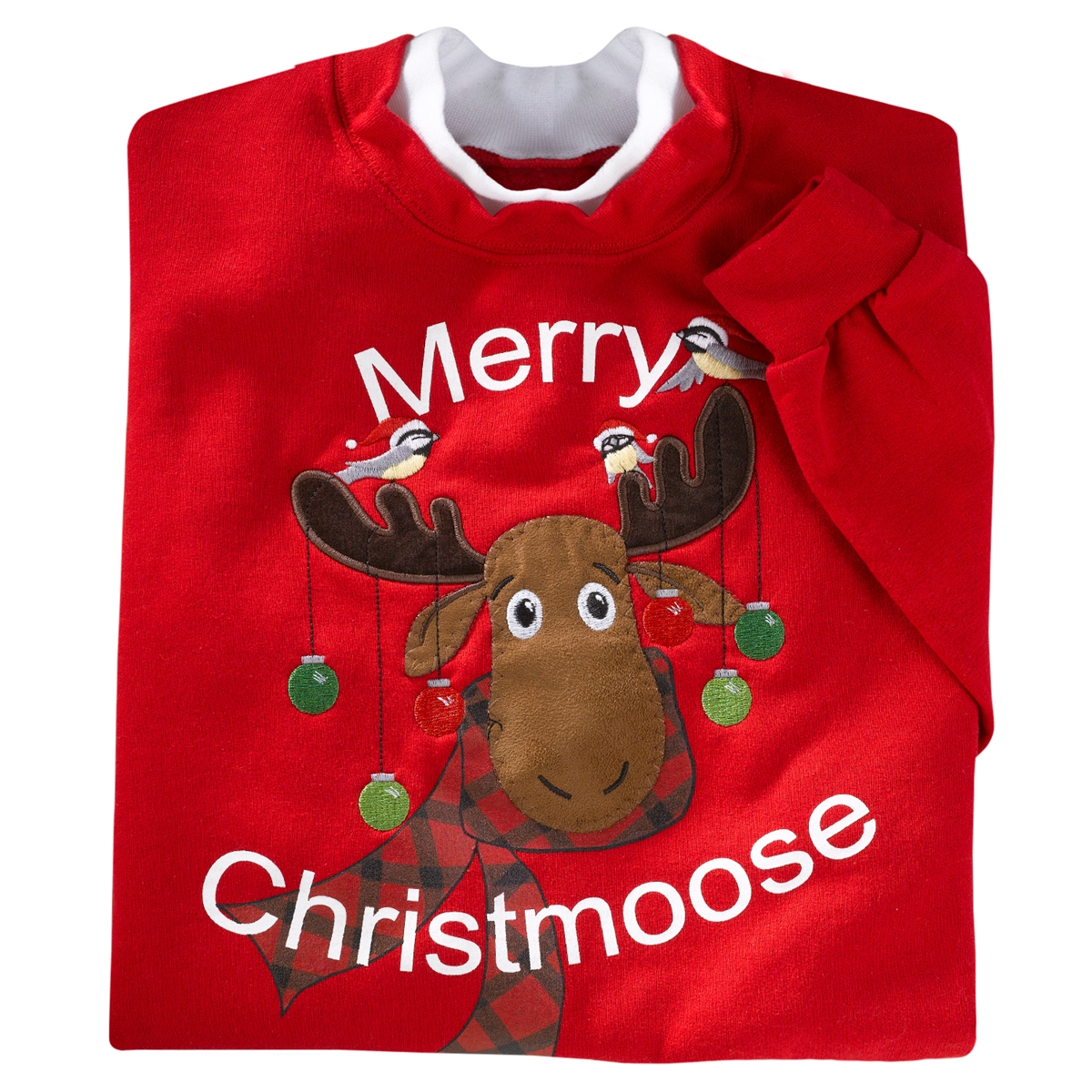 Merry Christmoose Pullover