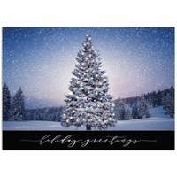 Tree Aglow Card