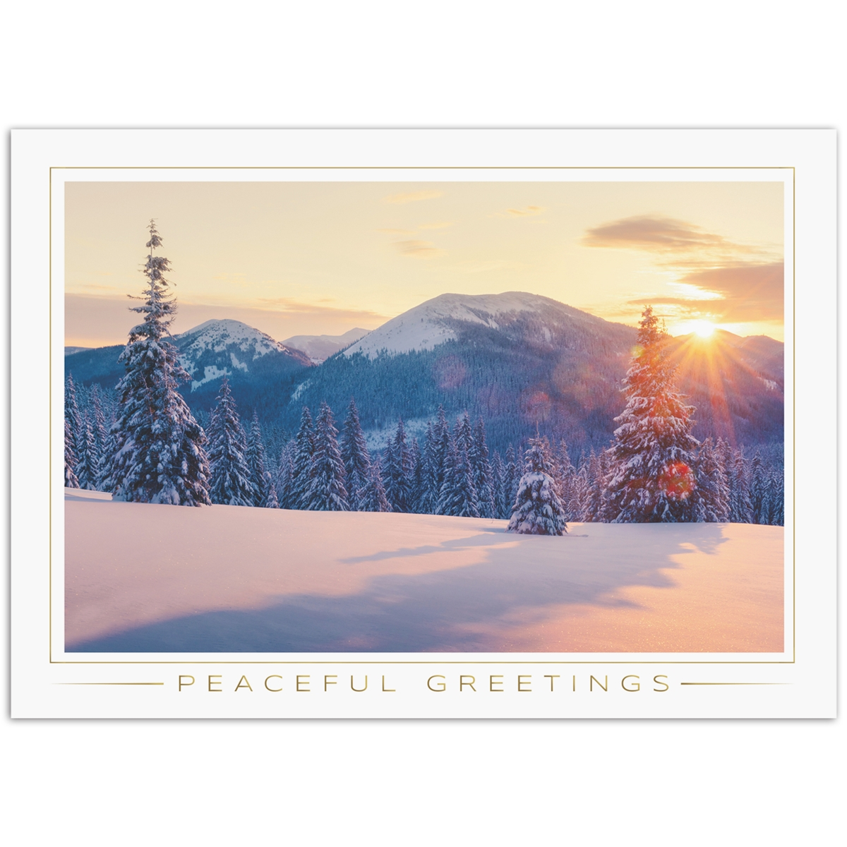 Majestic Site Holiday Cards