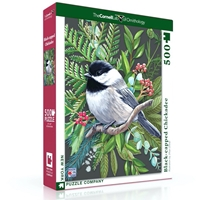 Black-Capped Chickadee Puzzle