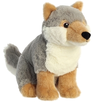 Gray Wolf Eco Plush