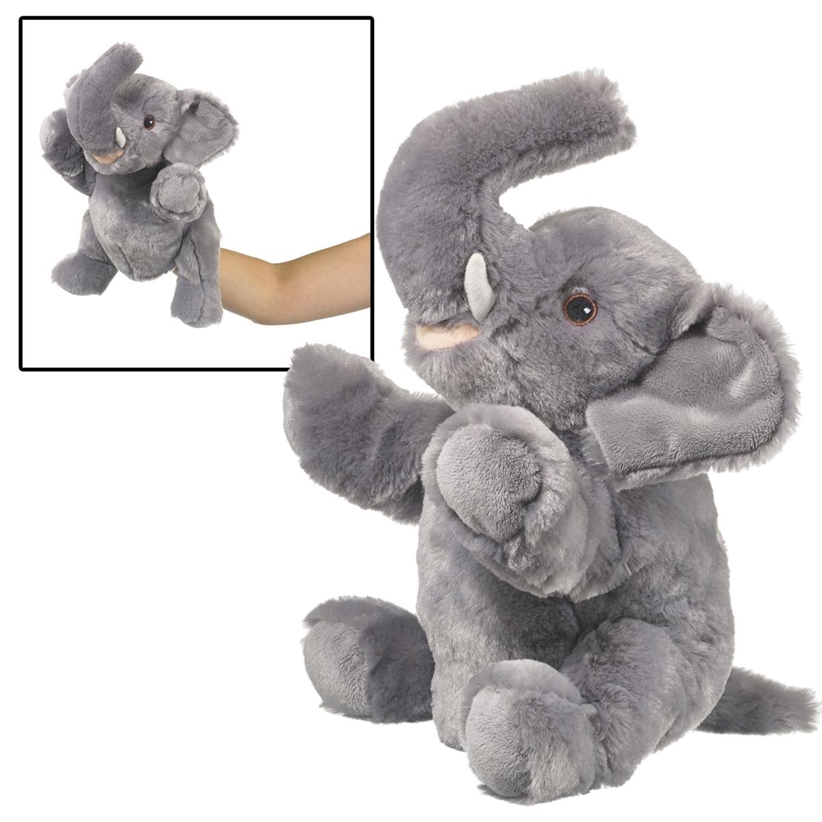 Elephant Eco Puppet