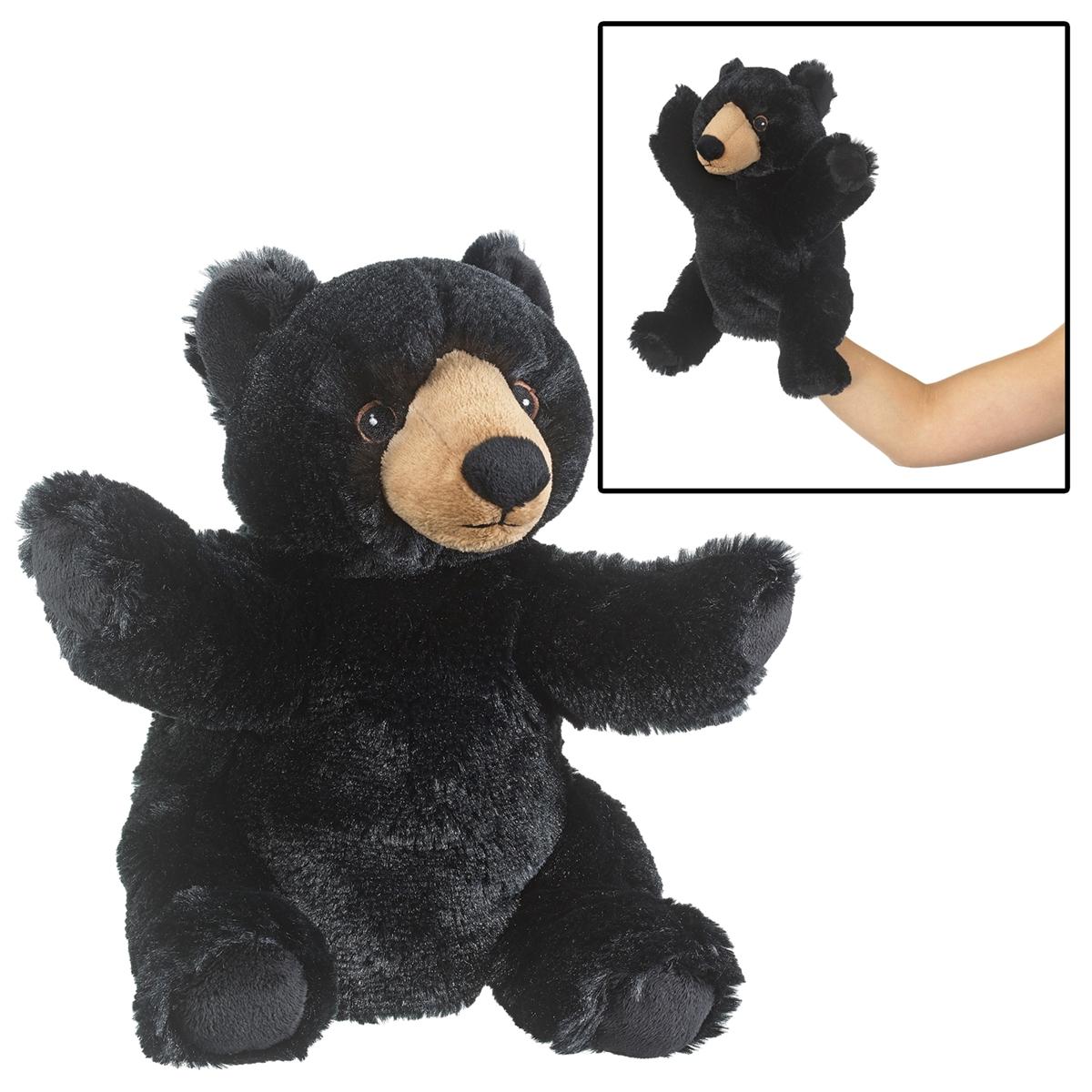 Black Bear Eco Puppet
