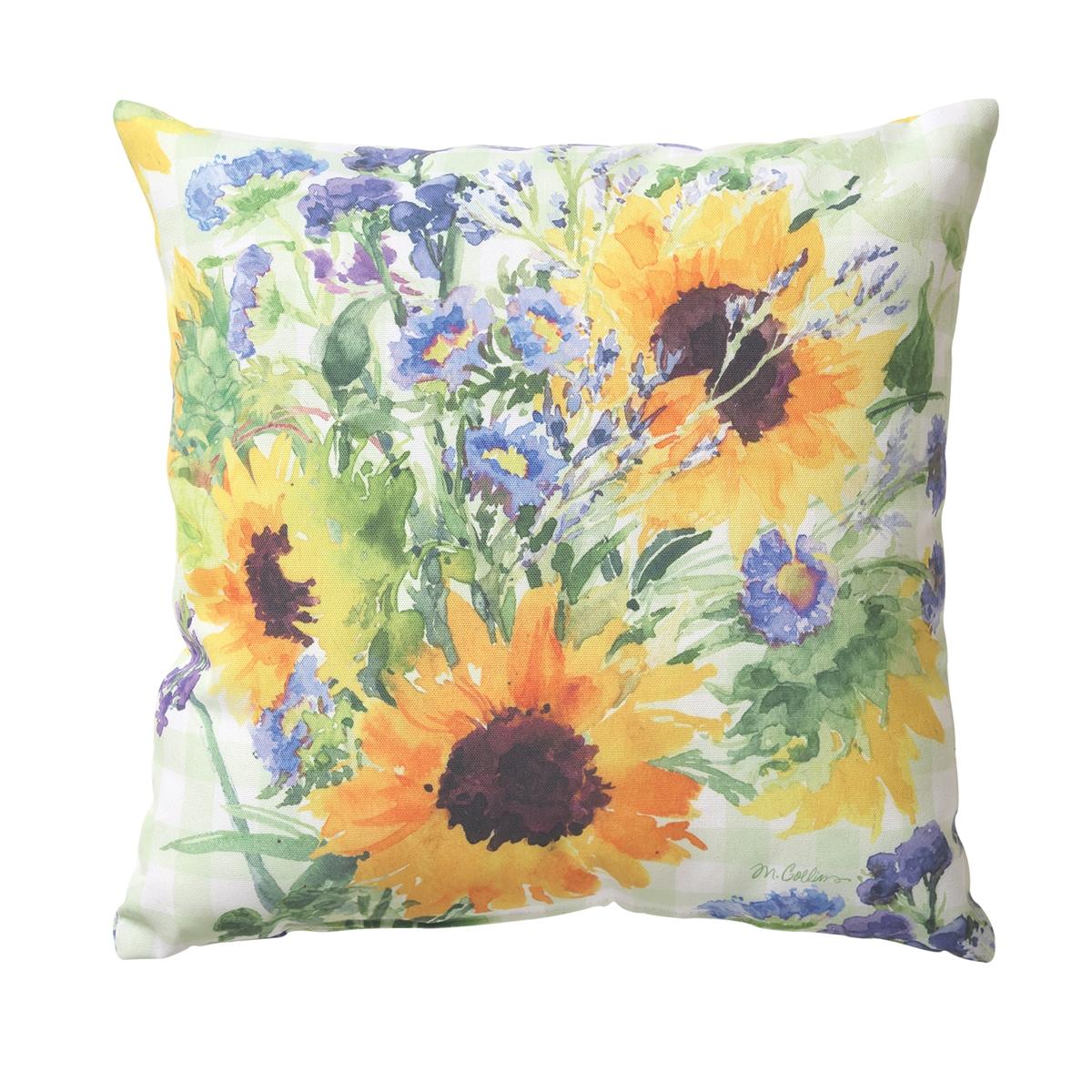 Sunflower Garden Pillow