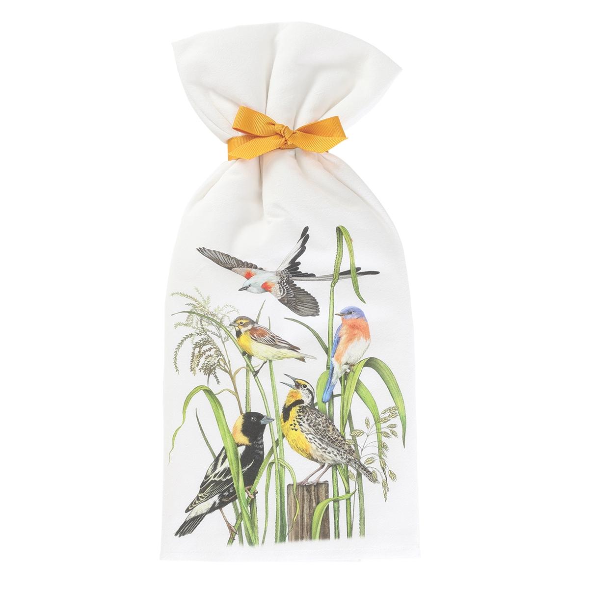 Colorful Birds Towels Set