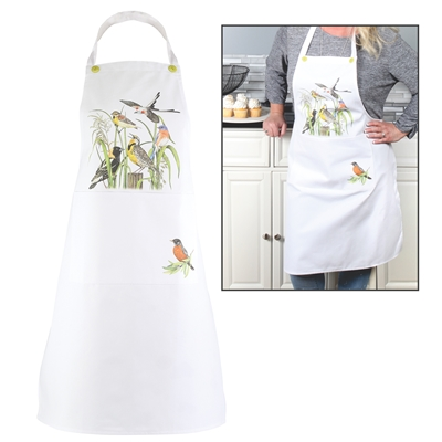 Colorful Birds Apron