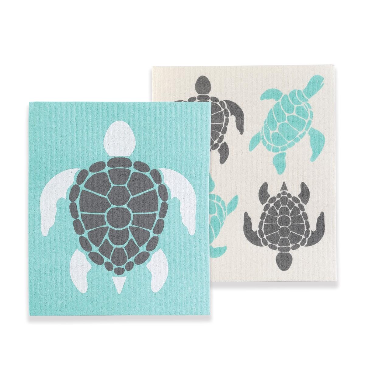 Turtle Swedish Dish Cloth Set