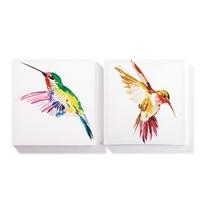 Hummingbird Wall Art Set