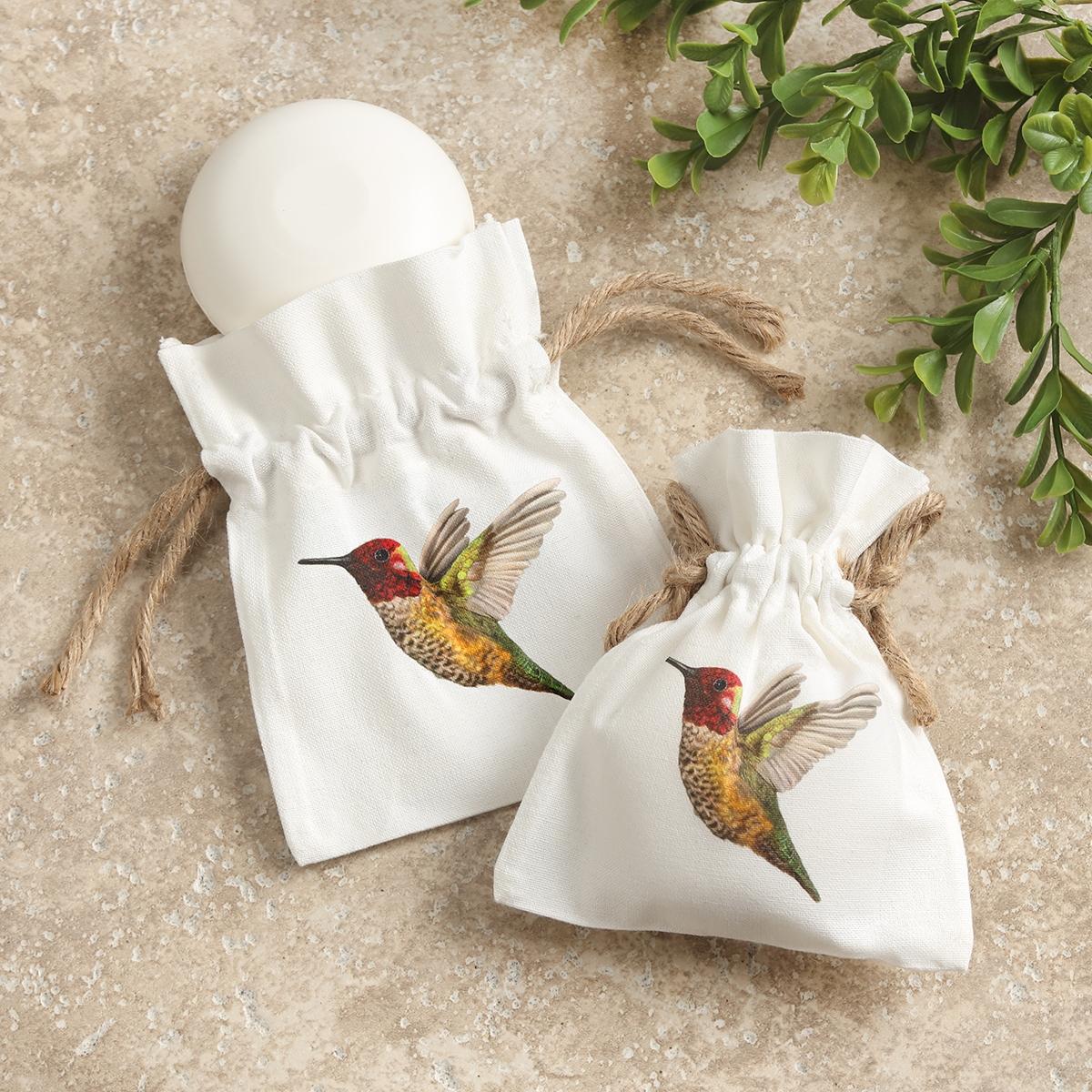 Hummingbird Sack of Soap