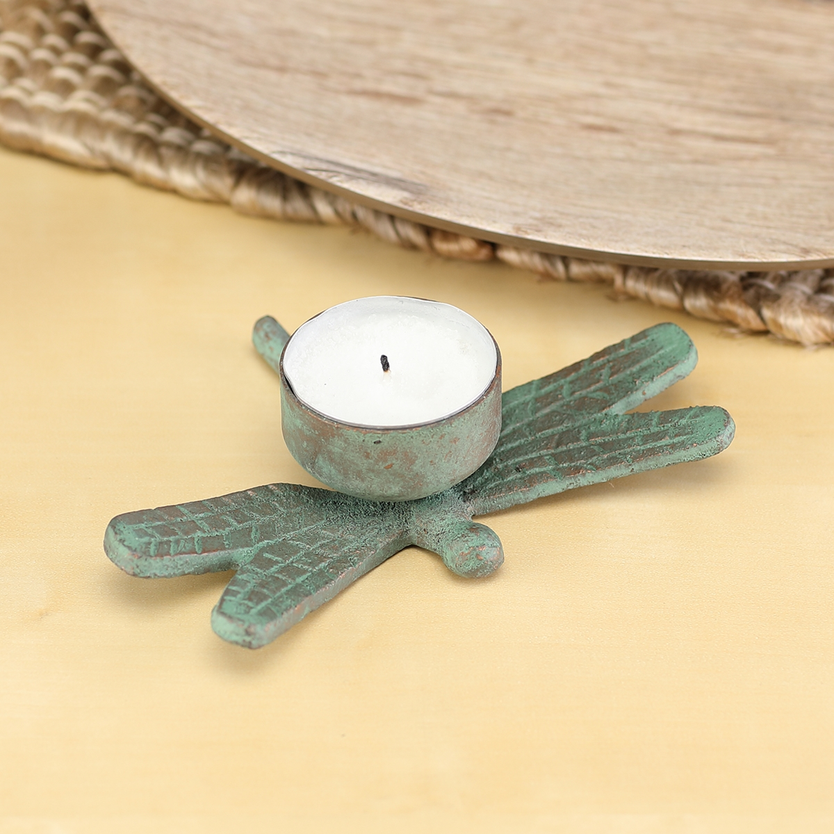Dragonfly Tea Light Holder