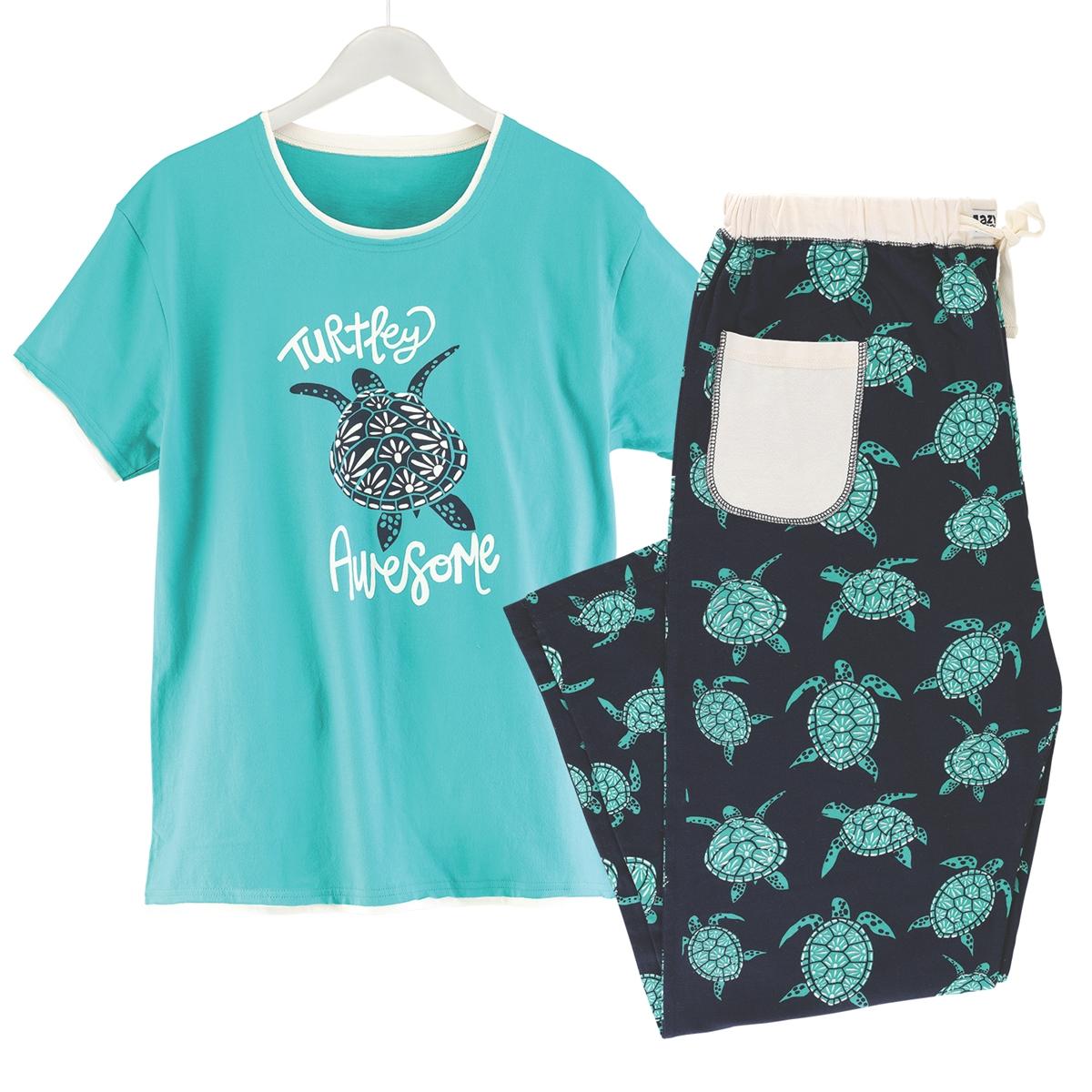 Turtley Awesome Pajamas