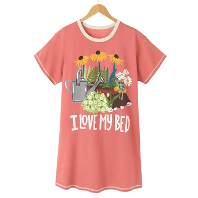 I Love My Bed Nightshirt