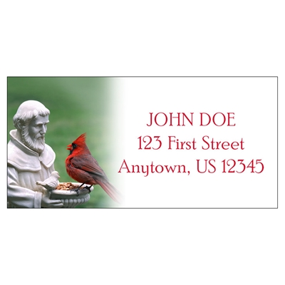 St. Francis and The Cardinal Address Labels