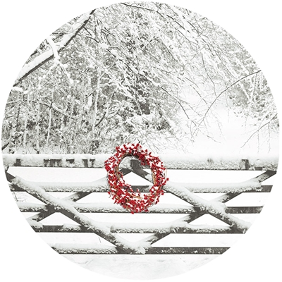 Snowy Gate Envelope Seal