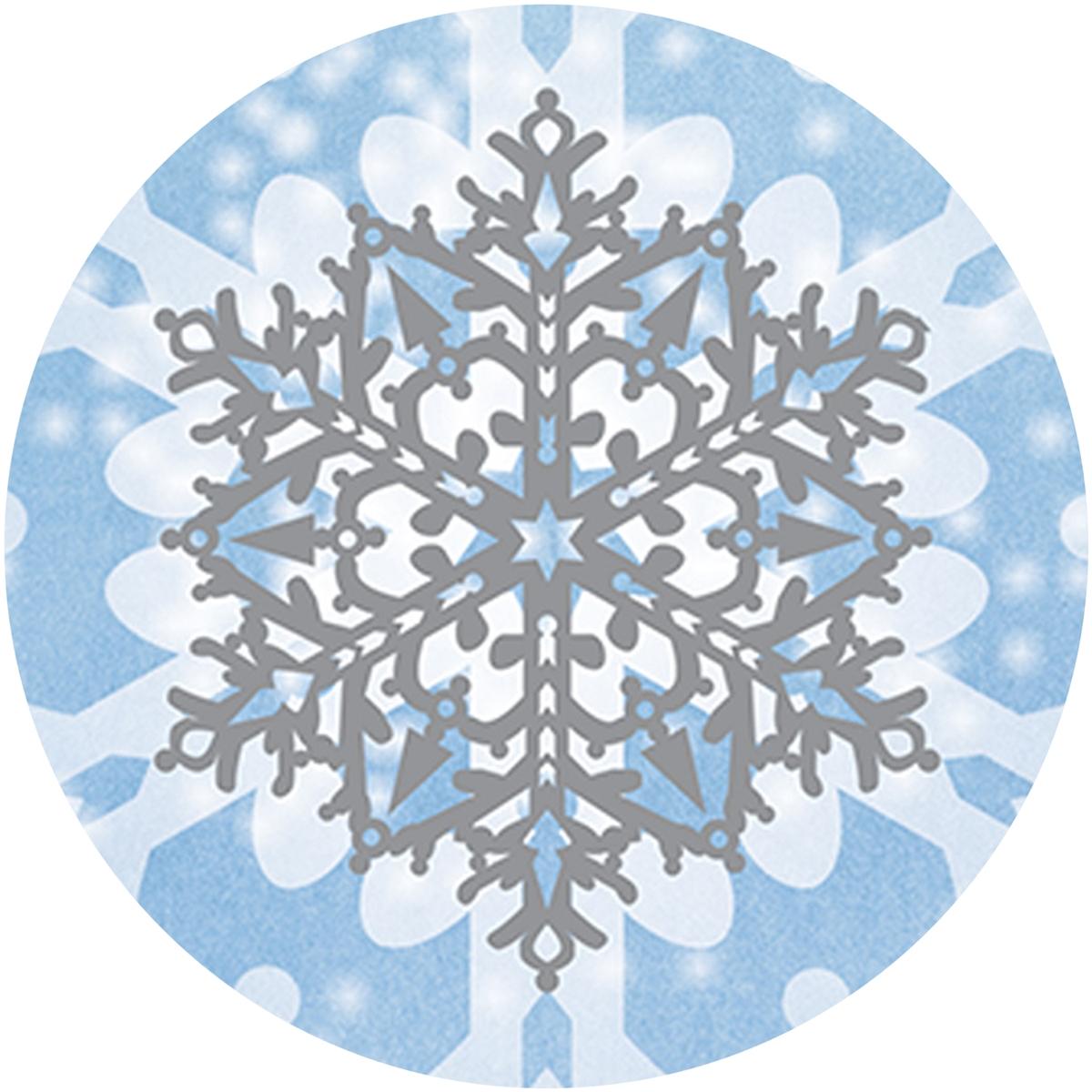 Joy Snowflake Envelope Seal