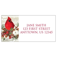 Holly and Cotton Address Label