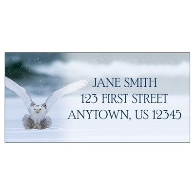 Snowy Owl Address Label