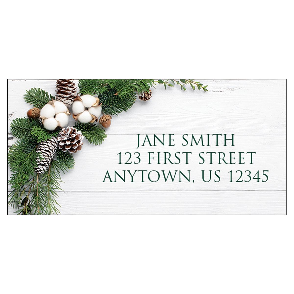 Rustic Style Address Label