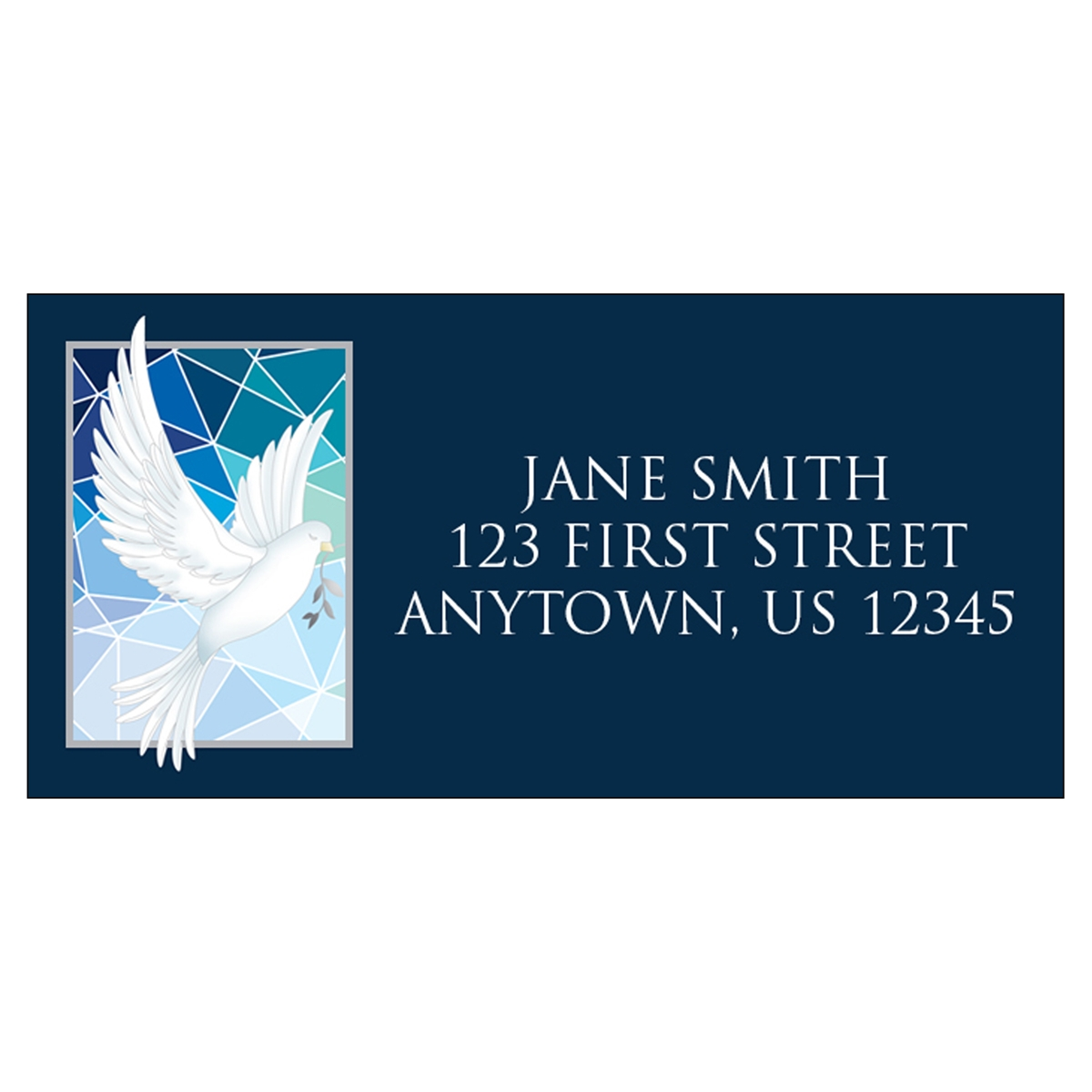 Shining Peace Address Label