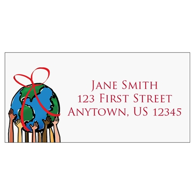 Special Gift Address Label