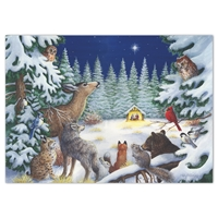 Animal Nativity Holiday Cards