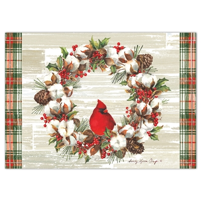Holly and Cotton Holiday Cards