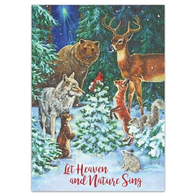 Woodland Animals Holiday Cards