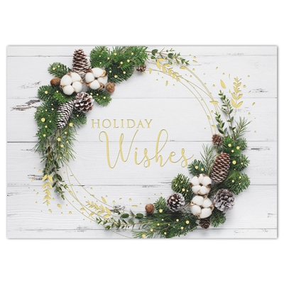 Rustic Style Holiday Cards