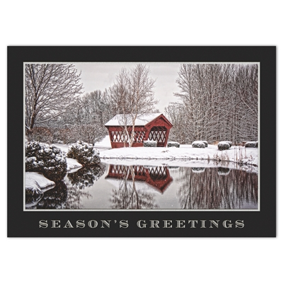 Sparkling Scene Holiday Cards