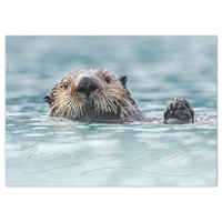 Sea Otter Holiday Cards