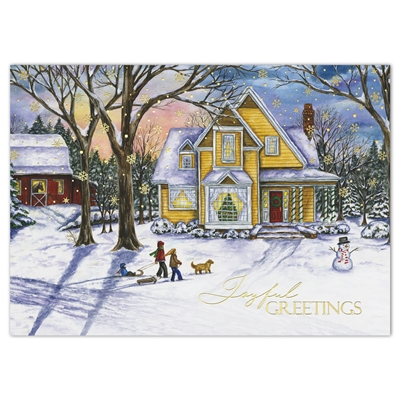 Christmas Traditions Holiday Cards