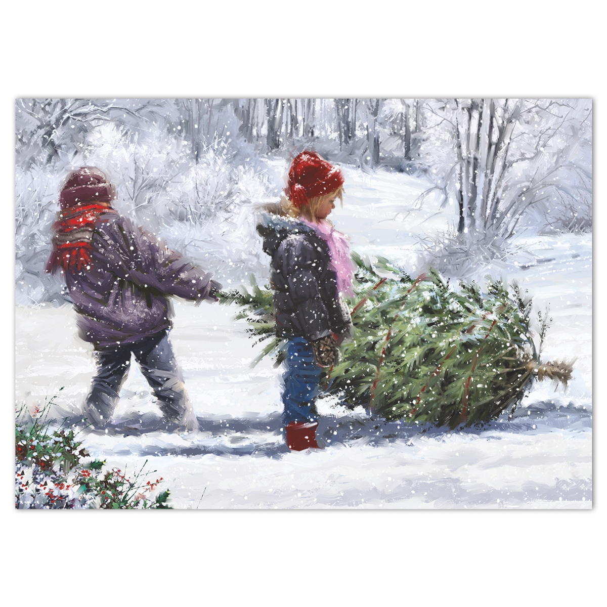 Winter Work Holiday Cards