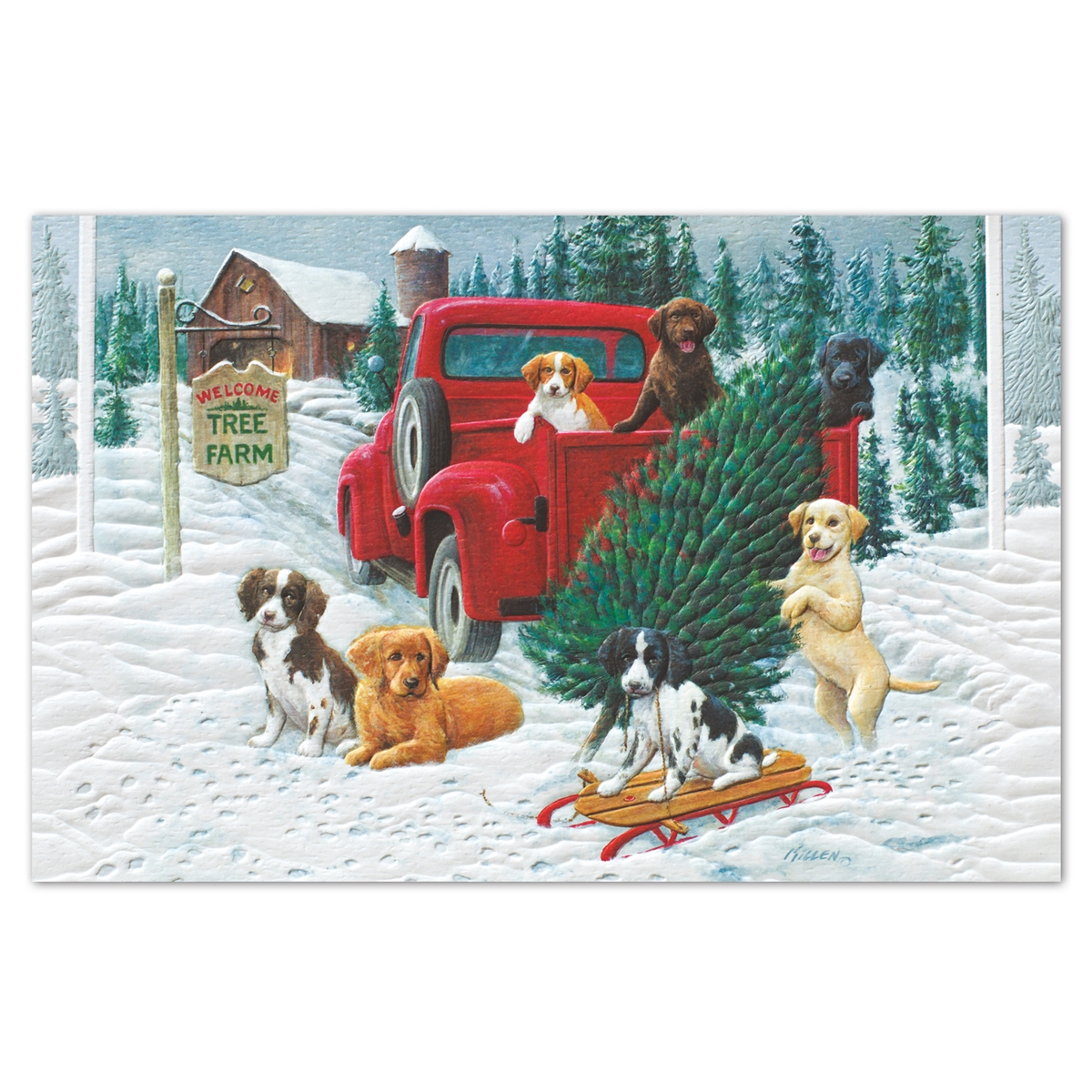 Pick-up Puppies Holiday Cards