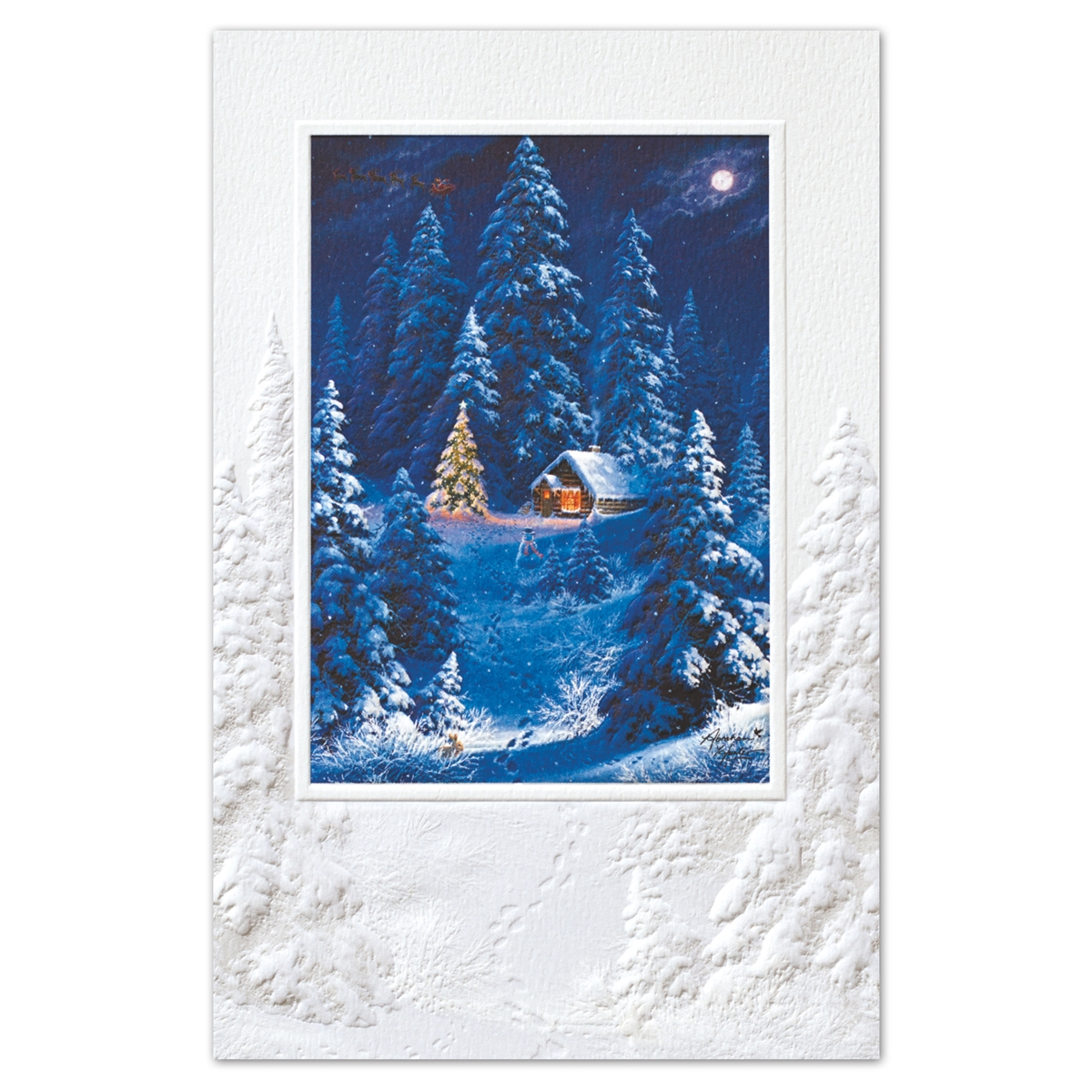 The Night Before Christmas Holiday Cards
