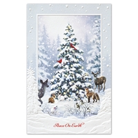 Woodland Christmas Holiday Cards