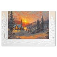 Christmas Sunrise Holiday Cards