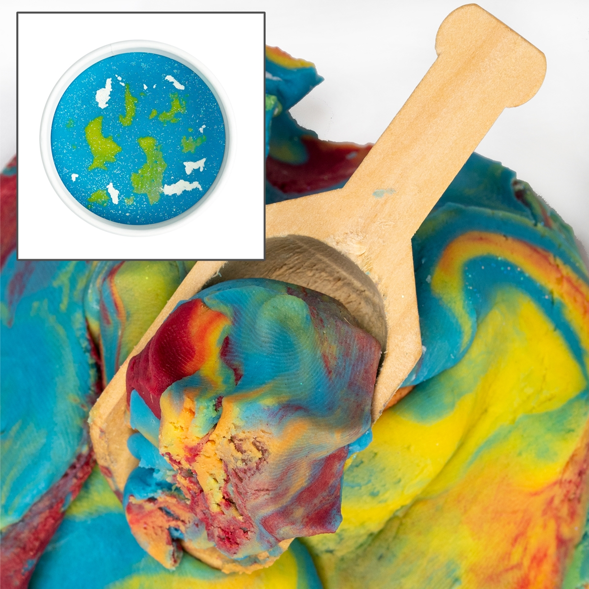 Land of Dough Planet Earth Party Cup