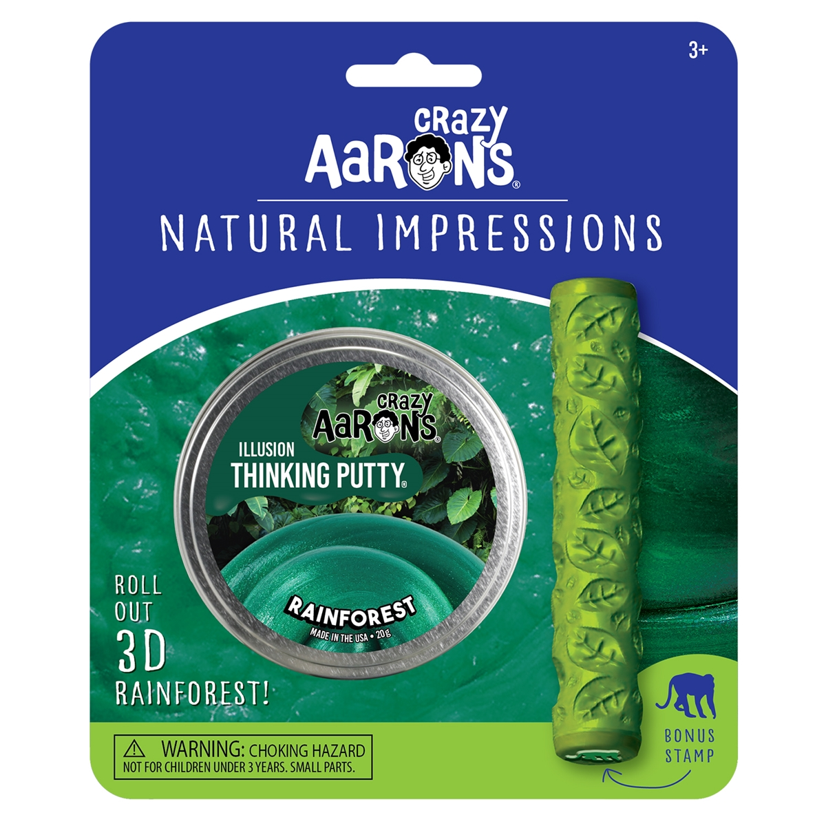 Natural Impressions Rainforest Thinking Putty